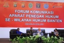 Untuk mencari solusi permasalahan APH di Banten, Kejati adakan Forum Komunikasi APH Banten