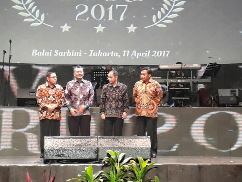 Dinilai Aktif Awasi Pilkada, Kejati Banten Raih Penghargaan Bawaslu Award 2017